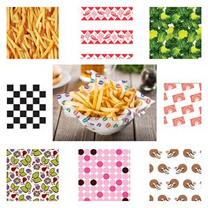 Food Wax Paper | Basket Liners