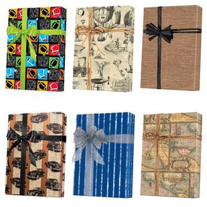 Masculine Gift Wrap