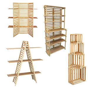 Wood Displays