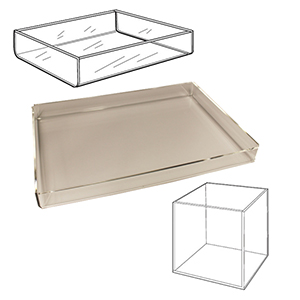Acrylic Bins & Trays