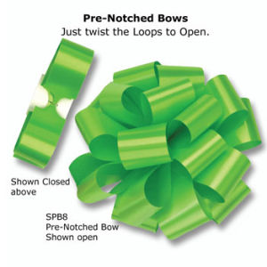 Pull Out Pre-Notch Bows
