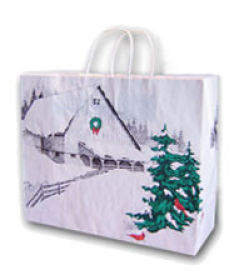 Western Themed Christmas Bags
