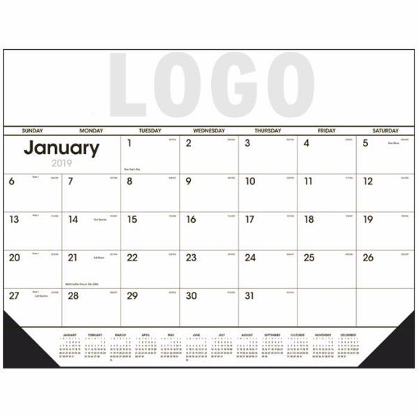 Monthly Flat Desk Calender