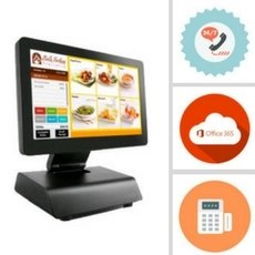 Point of sale system used to track sales.