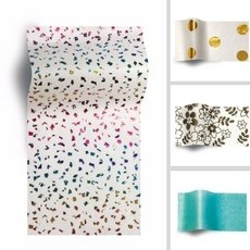 Tissue Papers in solid color or special designs.