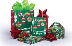 Ornament Shop Design Packaging