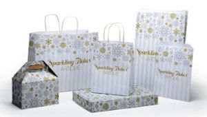 Sparkling Flakes Design Packaging
