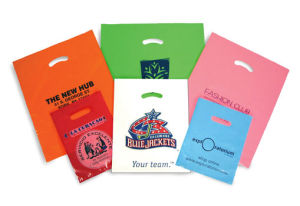 Personalized Super Gloss Lo Density Plastic Bags