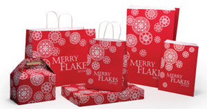 Merry Flakes Design Packaging