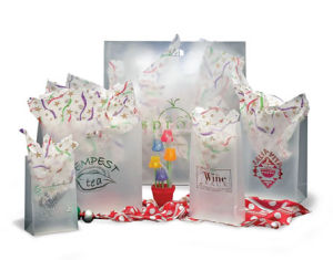 Personalized Frosted SOS Plastic Bags