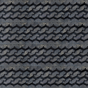 Tire Tread - 3D Wall Panels