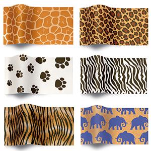 Animal Print Tissue Paper