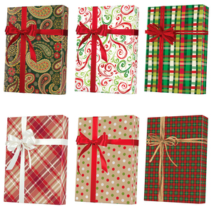 Christmas Patterns Gift Wrap