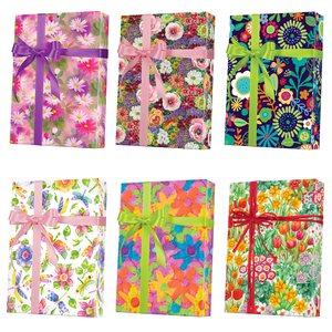 Floral Gift Wrap