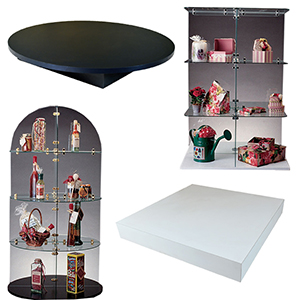 Glass Tower Displays & Bases