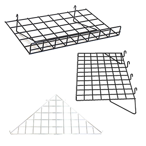 Gridwall Wire Shelves