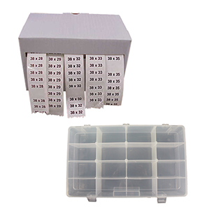 Storage for Sizers & Labels
