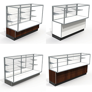 Laminate Metal Display Cases