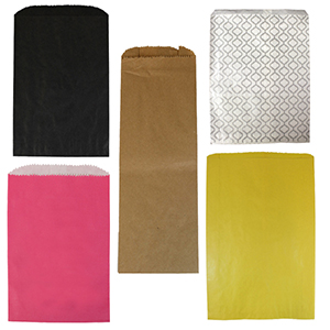 Colored Paper Merchandise Bags