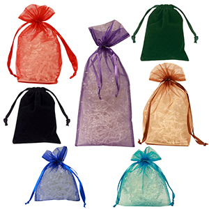 Organza & Velvet Bags