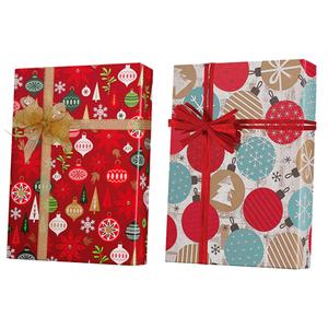 Christmas Ornament Gift Wrap