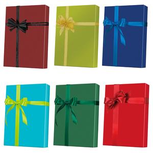 Solids & Metallics Gift Wrap