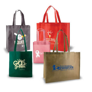 Personalized Color Magic Non Woven Reusable Shopping Bags