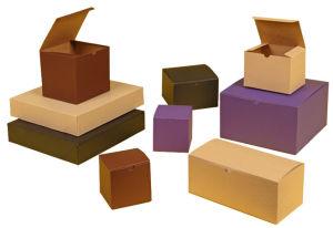 Tinted Kraft Tuckit Gift Boxes