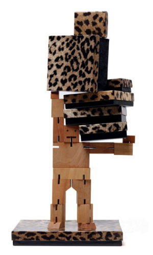 Leopard Patterned Jewelry Boxes