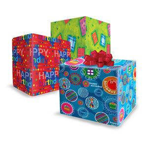 Birthday; Celebration & Party Giftwrap