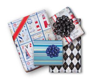 Masculine Giftwrap
