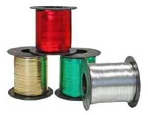 Crimped Metallic Tone Curling Ribbon