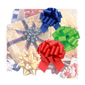 Star; Prenotched Bows; Ribbon