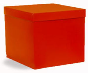 Hi Wall 2 Piece Red Boxes & Lids