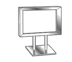 Chrome Sign Card Frames