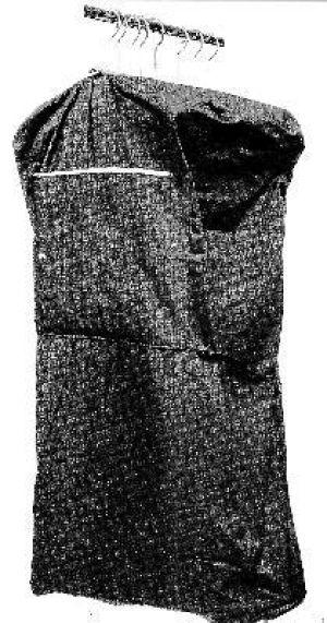 Salesmans Garment Bag in Navy Blue