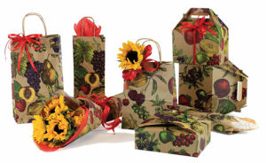 Fruit Bowl Wine Packaging Bags and Boxes
