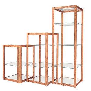 Open Shelf Display Cases