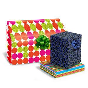Dots; Stripes & Miscellaneous Gift Wrap