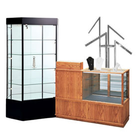 Store Display Cases; Racks & Showcases