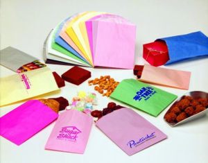 Unprinted Paper Glassine Lined Bags