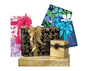 Feminine and Floral Giftwrap