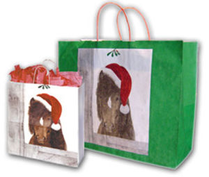 Western Christmas Bags