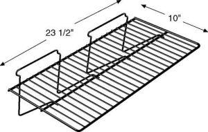 Slatwall Flat Wire Shelves