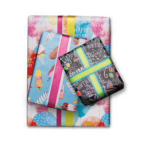 Birthday & Celebration Giftwrap