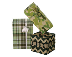 Masculine Giftwrap