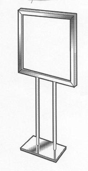 Floor Standing Sign Frame
