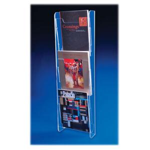 Acrylic Literature Holder Multi Tier