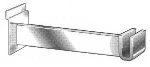 Mechandising Bar Brackets for Slatwall or Slatgrid