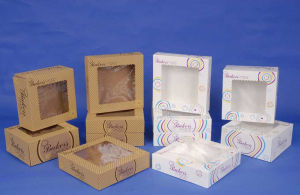 Printed Kraft Boxes with Windows